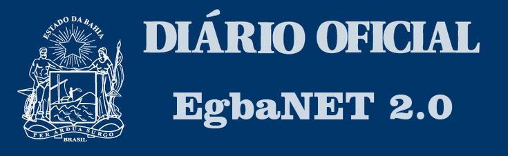 EgbaNet 2.0 - Publicação no Diário Oficial