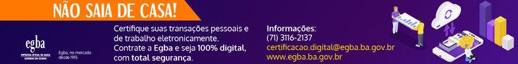Banner Certificação Digital