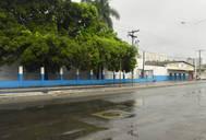 Imóvel onde funcionava a Ebal, na Avenida Barros Reis